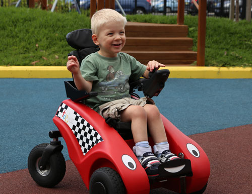 Powered Mobility For Young Children Cerebral Palsy
