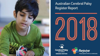 Australian Cerebral Palsy Register Report